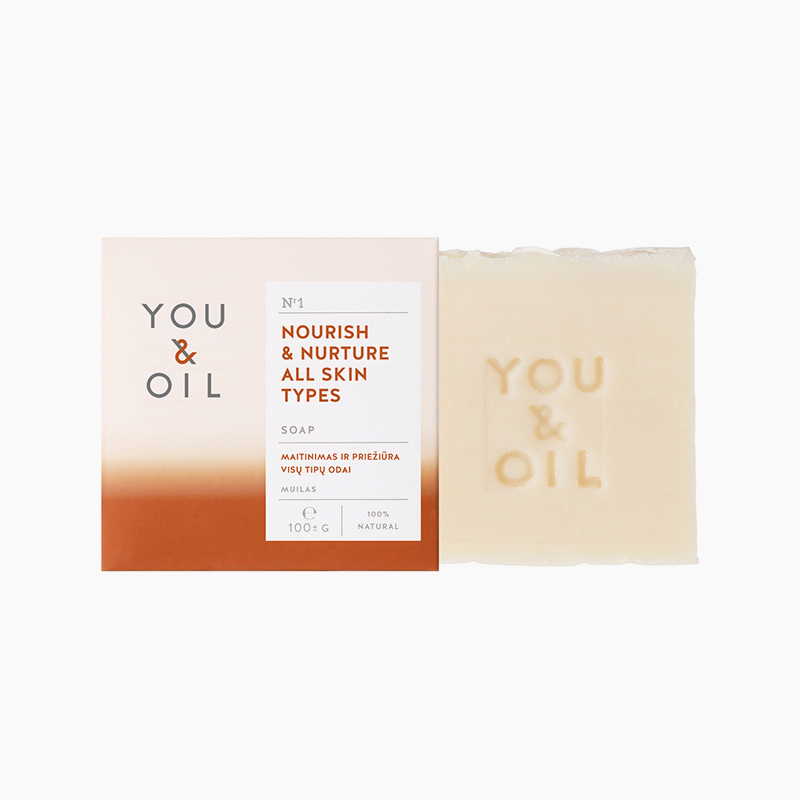 [YOU&OIL] 유앤오일 솝 너리쉬&너쳐올 스킨 타입 솝